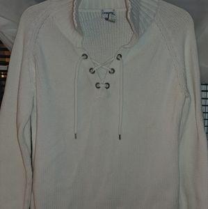 Chicos White Sweater